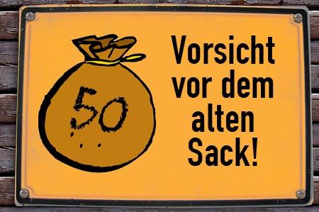 50 Jahre - Alter Sack