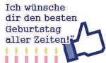 50. Geburtstag Facebook Glückwünsche