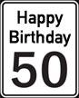 Englische Sprüche zum 50. Geburtstag