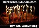 Geburtstagsw�nsche 50 M�nner