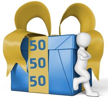 Geschenkideen zum 50. Geburtstag f�r M�nner